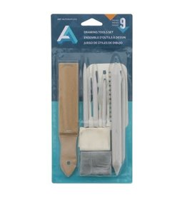 Art Alternatives Drawing Tools Set, 8 Pieces