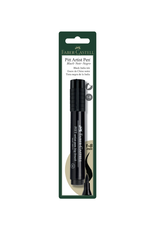 Faber Castel Pitt Big Brsh Pen Black 1/Cd
