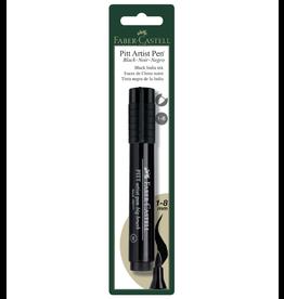 Faber Castel Pitt Big Brsh Pen Black 1/Cd