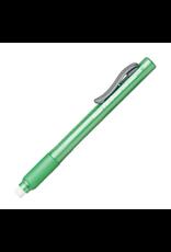 Pentel Eraser Clic/Grip Lt Grn Barel