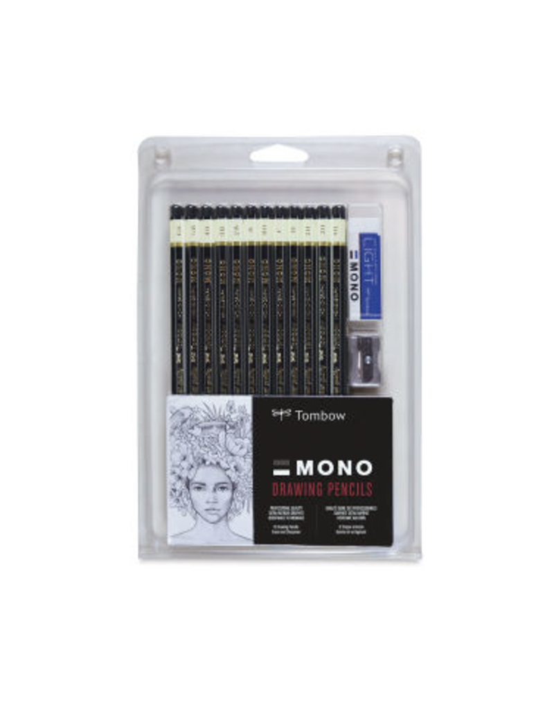 Tombow Mono Drawing Pencil 12/Set
