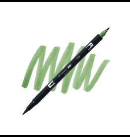 Tombow Dual Brush-Pen  158 Dark Olv