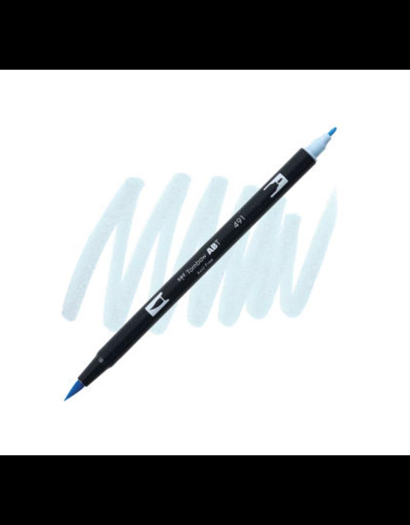 Tombow Dual Brush-Pen  491 Glac Blue