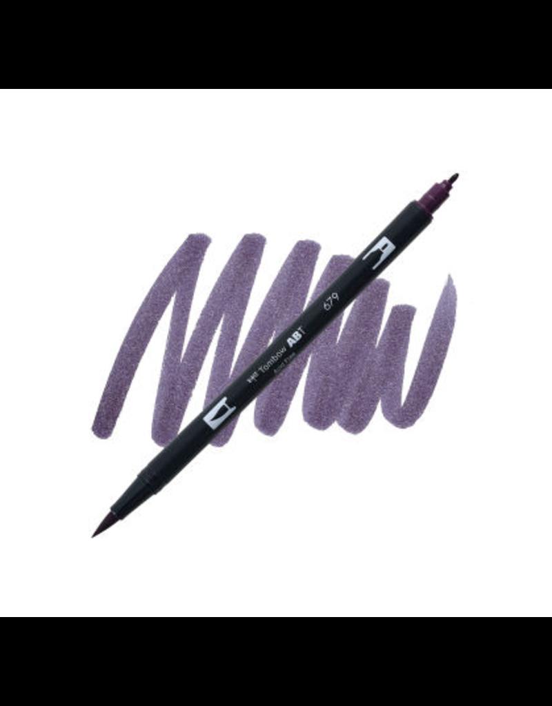 Tombow Dual Brush-Pen  679 Dk Plum