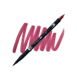 Tombow Dual Brush-Pen  837 Wine Red