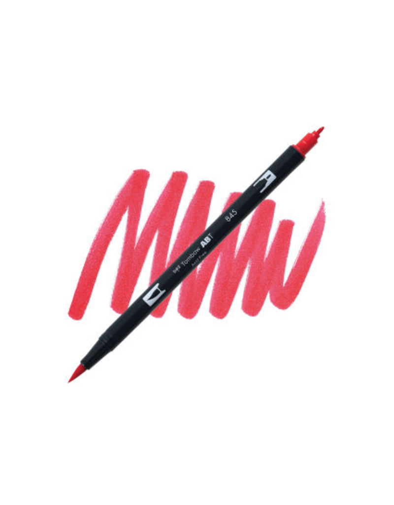 Tombow Dual Brush-Pen  845 Carmine
