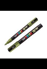 Posca Pc-3M Fine Khaki Green