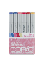 Copic Sketch 6 Piece Floral Favorites II Set