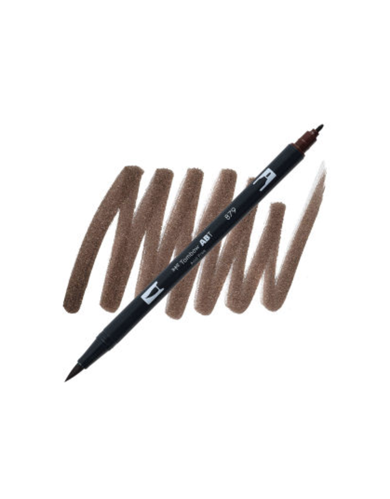 Tombow Dual Brush-Pen  879 Brown