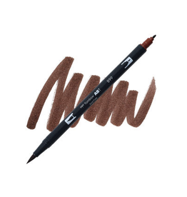 Tombow Dual Brush-Pen  899 Redwood