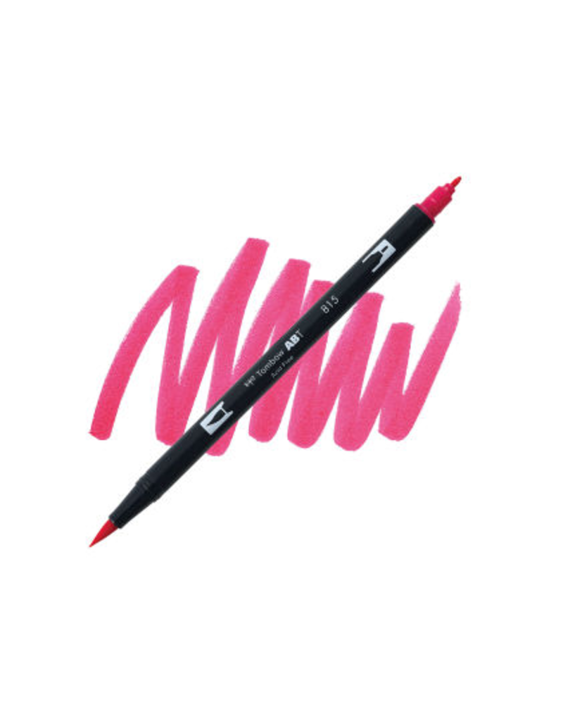 Tombow Dual Brush-Pen  912 Pl Cherry