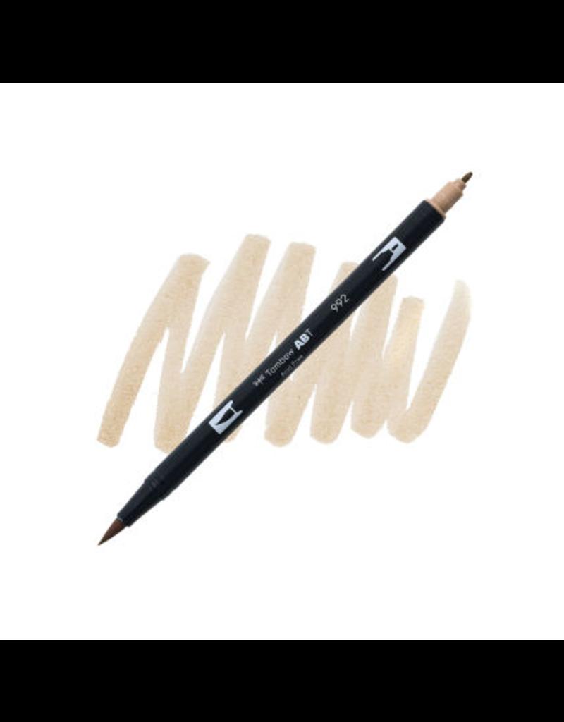 Tombow Dual Brush-Pen  992 Sand