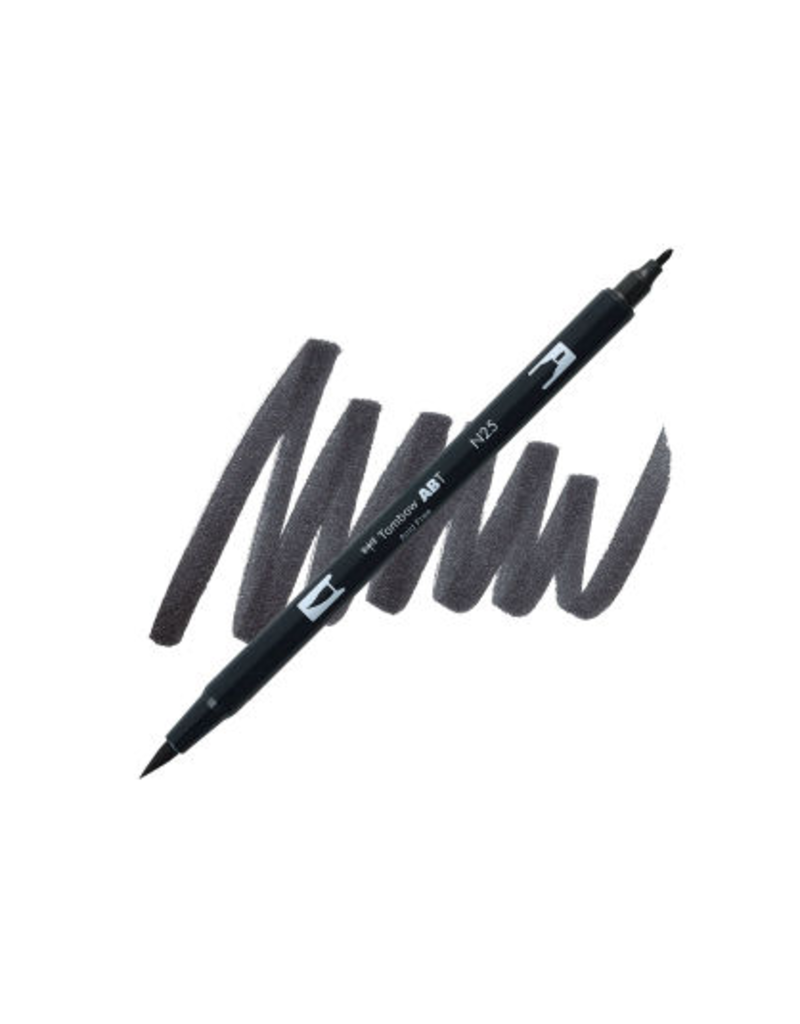 Tombow Dual Brush-Pen  N25 Lamp Blk