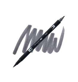 Tombow Dual Brush-Pen  N45 Cl Gy 10