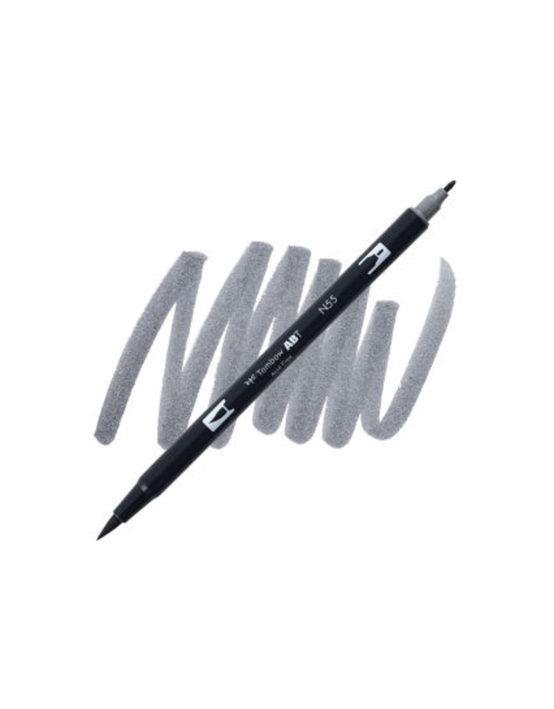 Tombow Dual Brush-Pen  N55 Cl Gy 7
