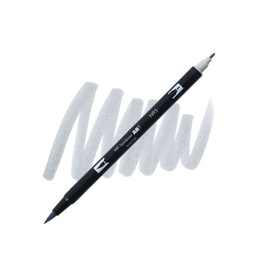 Tombow Dual Brush-Pen  N95 Cl Gy 1