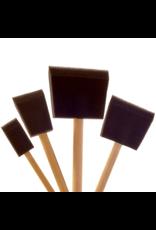 Royal Brush Foam Brushes, 3''