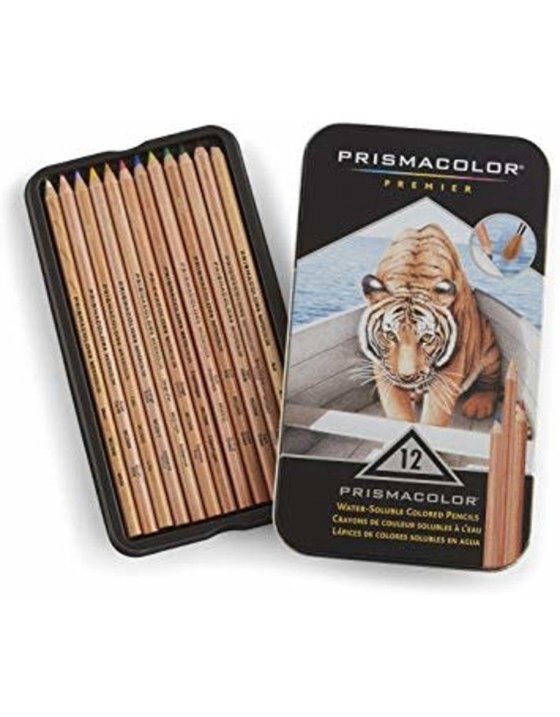 Sanford Prisma Watercolor Pencil Sets, 12-Color Set