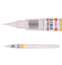 Kuretake Zig Zig Cartoonist Brush Pen Wht