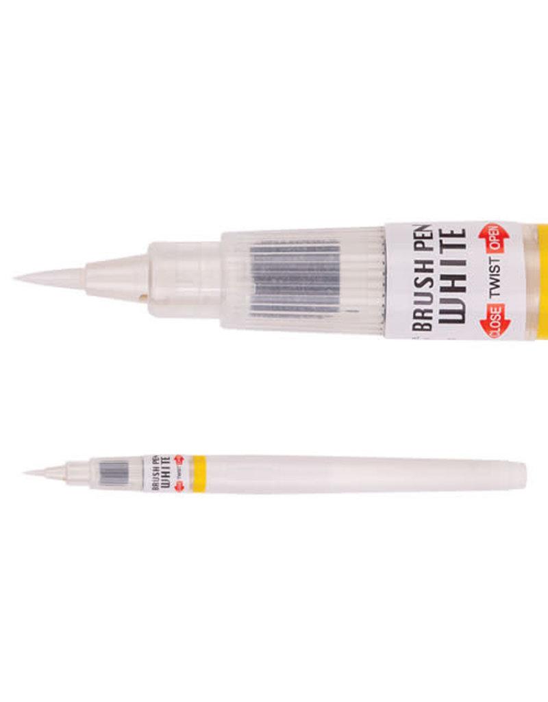 Kuretake Zig Zig Cartoonist Brush Pen Wht