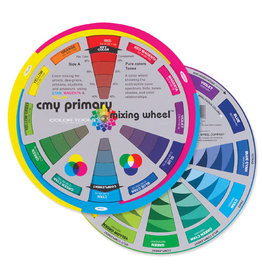Color Wheel Co Cmy Primary Mix Wheel 7 3/4