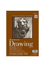 Strathmore Drawing  Pads 400 Series, Smooth Surface, 18 X 24
