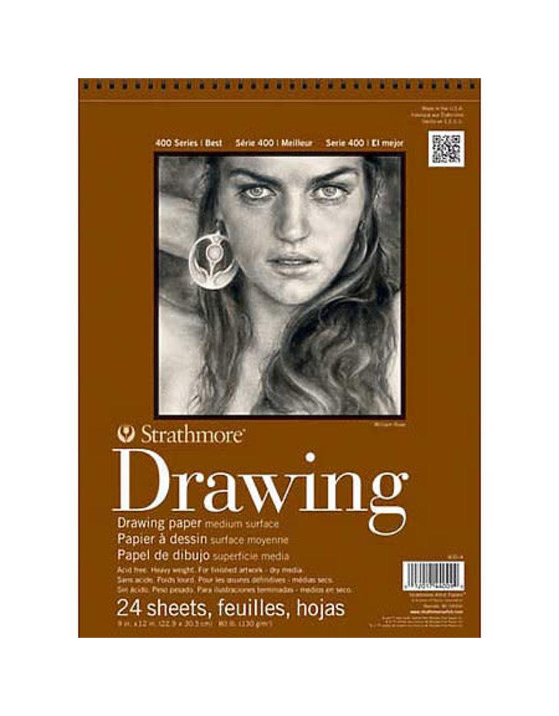 Strathmore Drawing Pads 400 Series, Medium Surface, 18 X 24