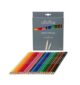 Cretacolor Art Std Ln Color Pencils 24/Se