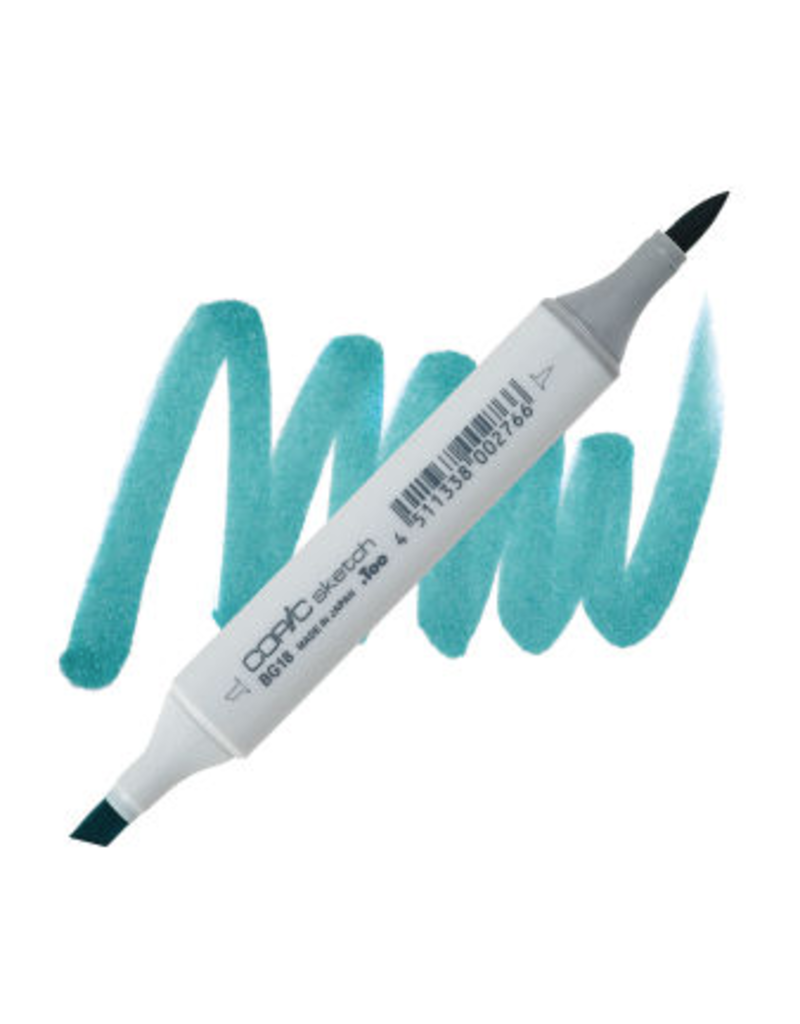 Copic Copic Marker Bg18 - Teal Blue