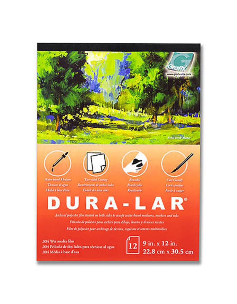 GRAFIX Pad (12 Shts) .004 Wet Media Dura-Lar 14X17