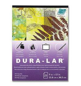 GRAFIX Pad (25 Shts) .003 Clear Dura-Lar 9X12