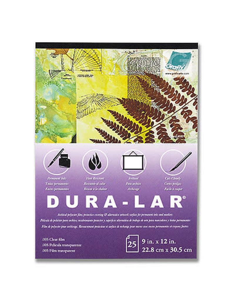 GRAFIX Pad (25 Shts) .005 Clear Dura-Lar 11X14