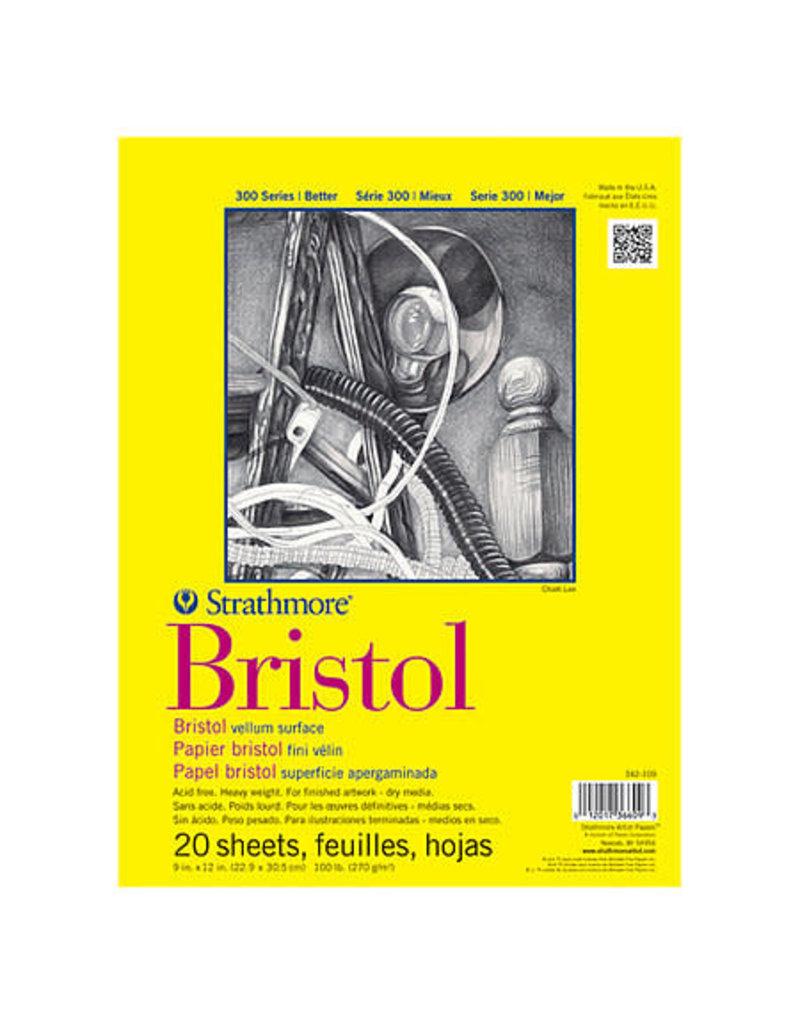 Strathmore Bristol 300 Vellum Pad 9X12