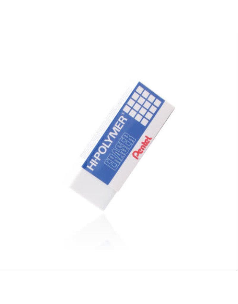 Pentel Hi-Poly Block Eraser - Lg Wht