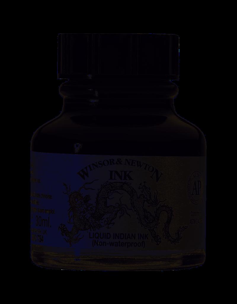 Winsor & Newton Draw Ink 30Ml Bottle - Liquid Indian