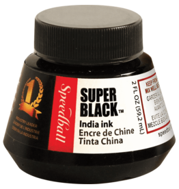 Speedball Super Black India Ink 2 Oz
