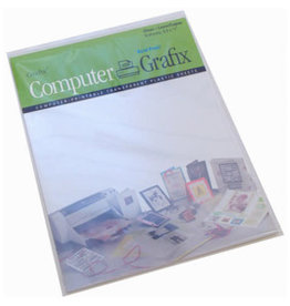 GRAFIX Pk/6 Clear Laser/Copier Film 8.5X11