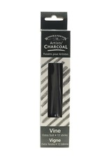 Winsor & Newton Artists' Vine Charcoal Extra-Soft - Box Of 12 Sticks