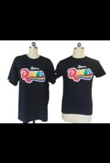 Bmore Queer Rainbow Silkscreen FASQA Black Tee