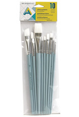 Art Alternatives Acrylic/Oil Brushes 10/ Set