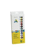 Art Alternatives AA Acrylic Paint Set 12X12Ml