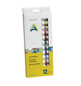 Art Alternatives Acrylic Paint Set 12X12Ml