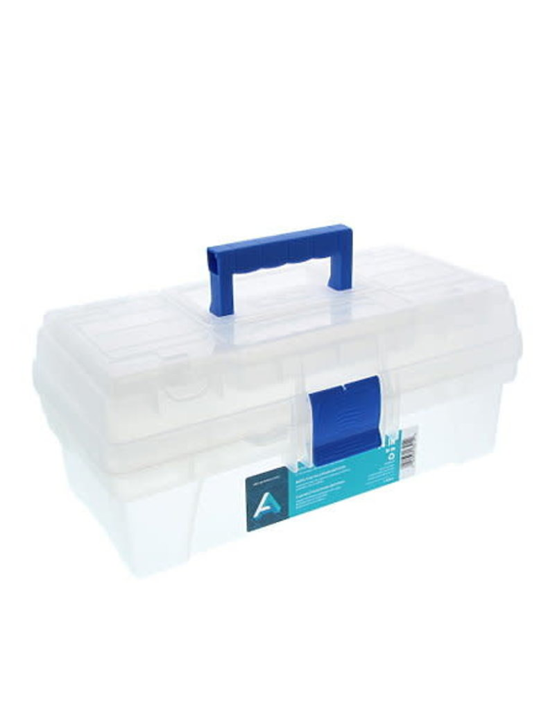 Art Alternatives Artist Tool Boxes, 12'' - Clear