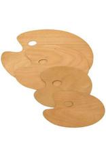 Art Alternatives Artist Wooden Palette Med 9.15X11.75