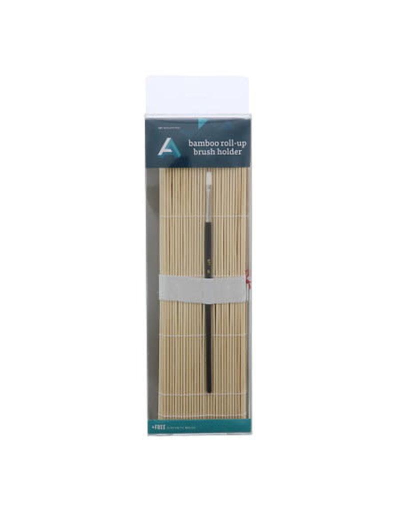 Art Alternatives Brush Holder Bamboo Rollup