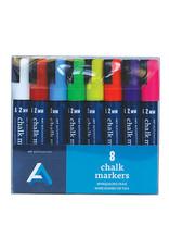 Art Alternatives Chalk Marker Set, 8 Colors