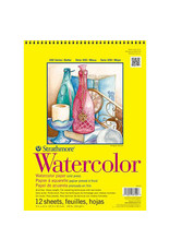 Strathmore Watercolor Paper Pads 300 Series, Tape-Bound, 9'' X 12''