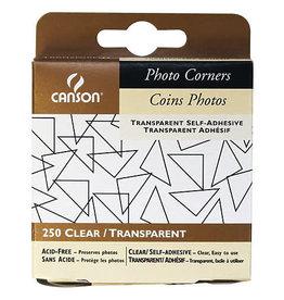 Canson Photo Corners Clr Adh 250/Pk