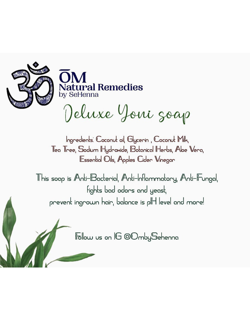 OM By Se'Henna Deluxe Yoni Soap