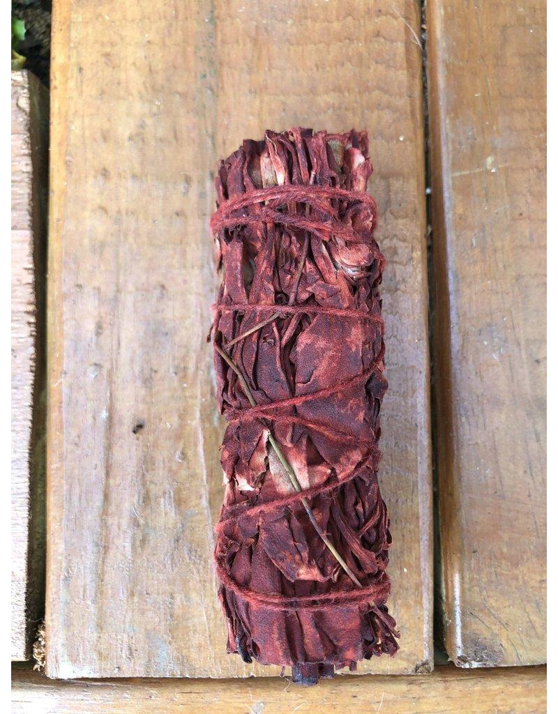 OM By Se'Henna Dragon Blood Sage Smudge Stick